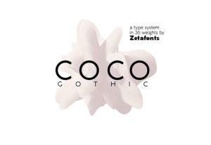 coco free font