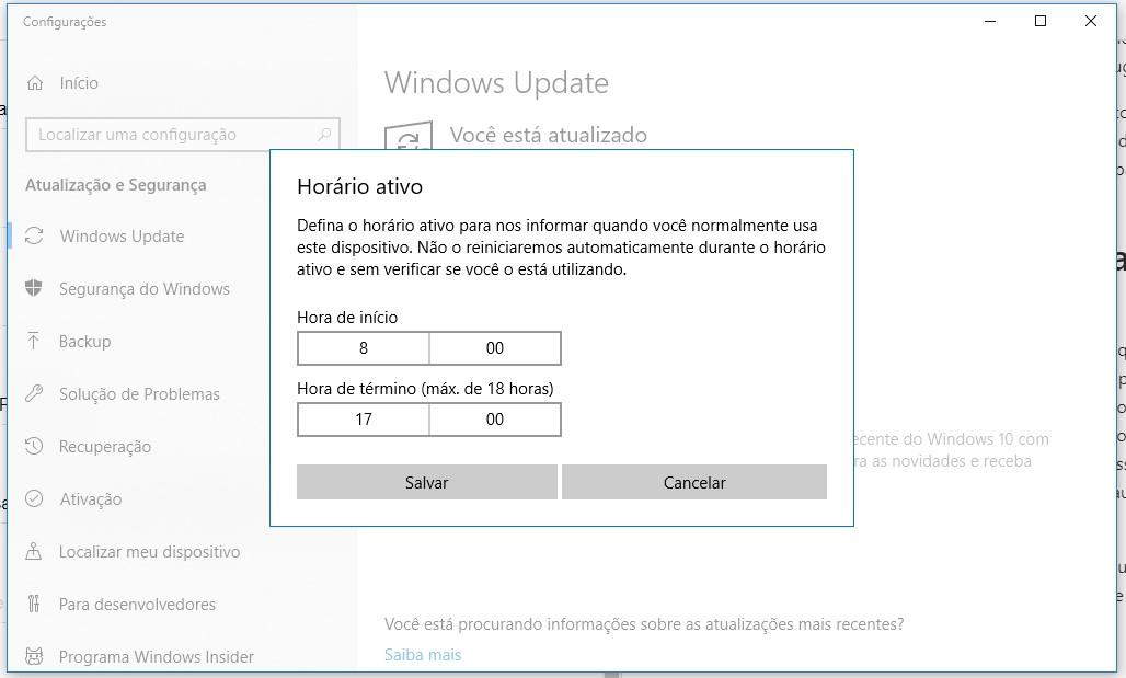 Como desabilitar a atualização automática do windows 10