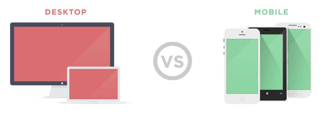 design responsivo desktop ou mobile