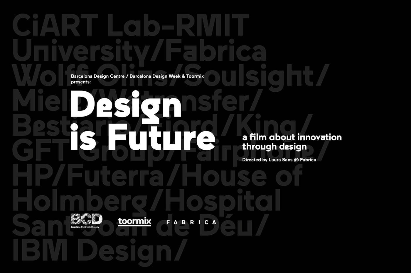 documentário design is future