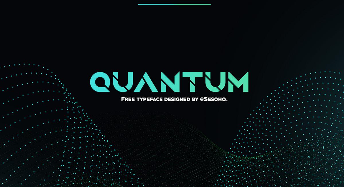Fonte gratuita Quantum