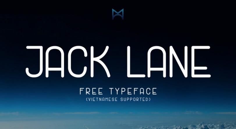 fonte gratuita jack lane