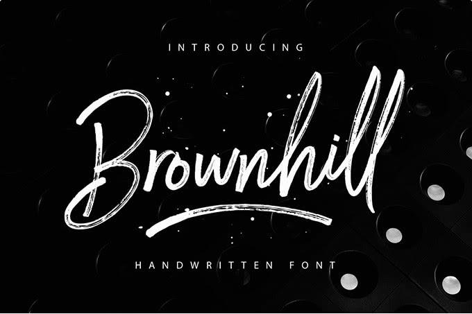 fonte de graça brownhill script