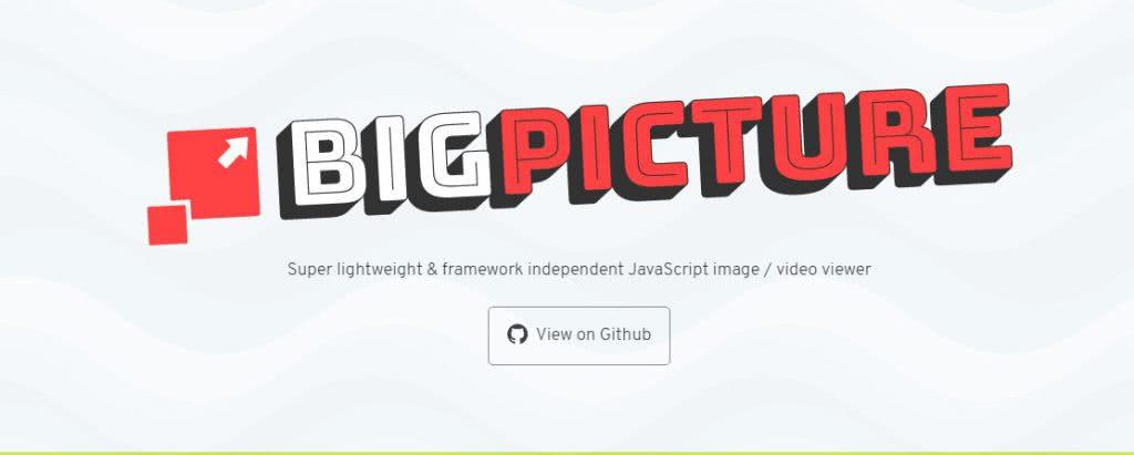 framework javascript big picture