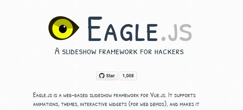 framework js vue eaglesjs