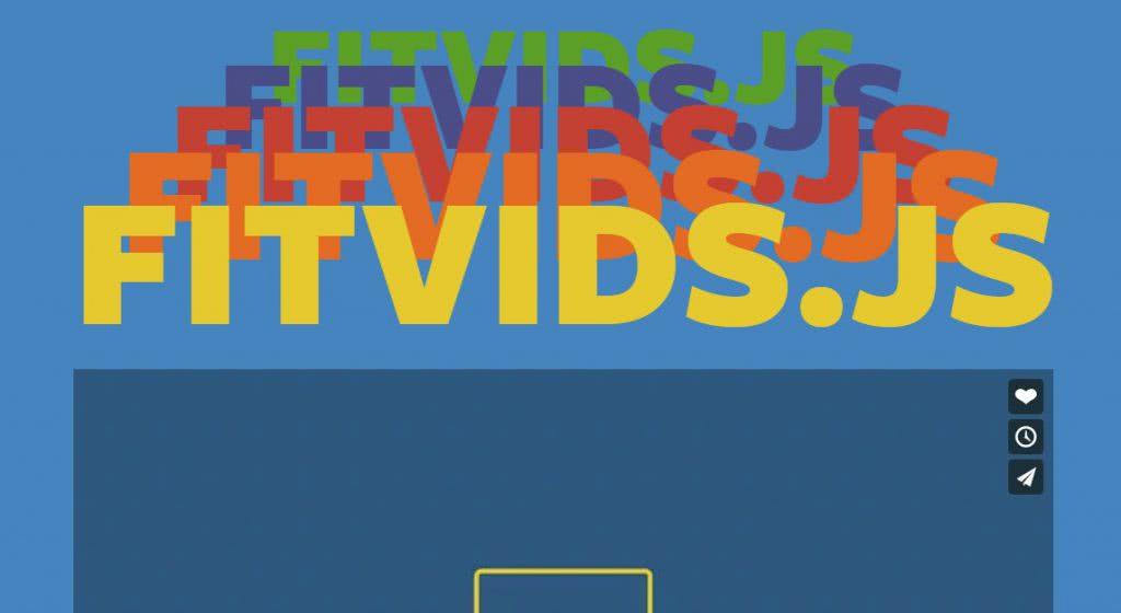 biblioteca javascript fitvids