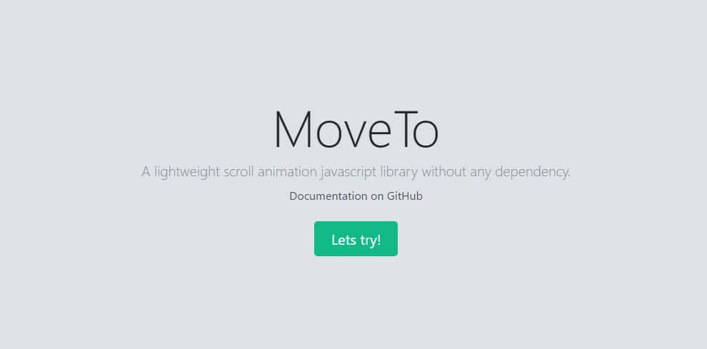 biblioteca js moveto