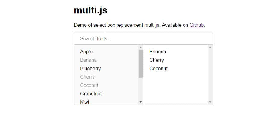 framework javascript multijs