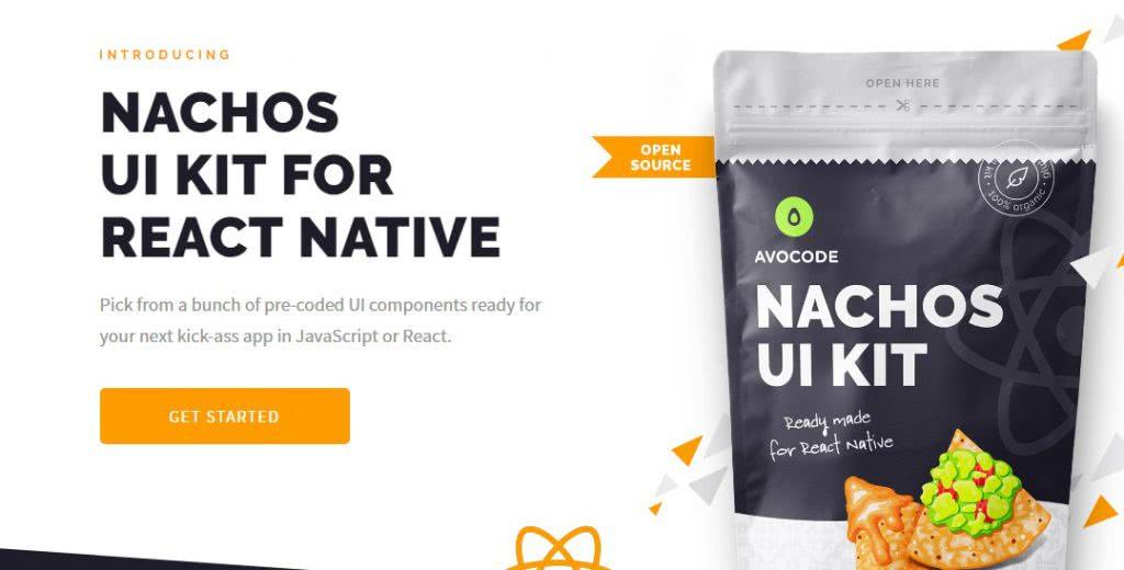 framework react nachos ui