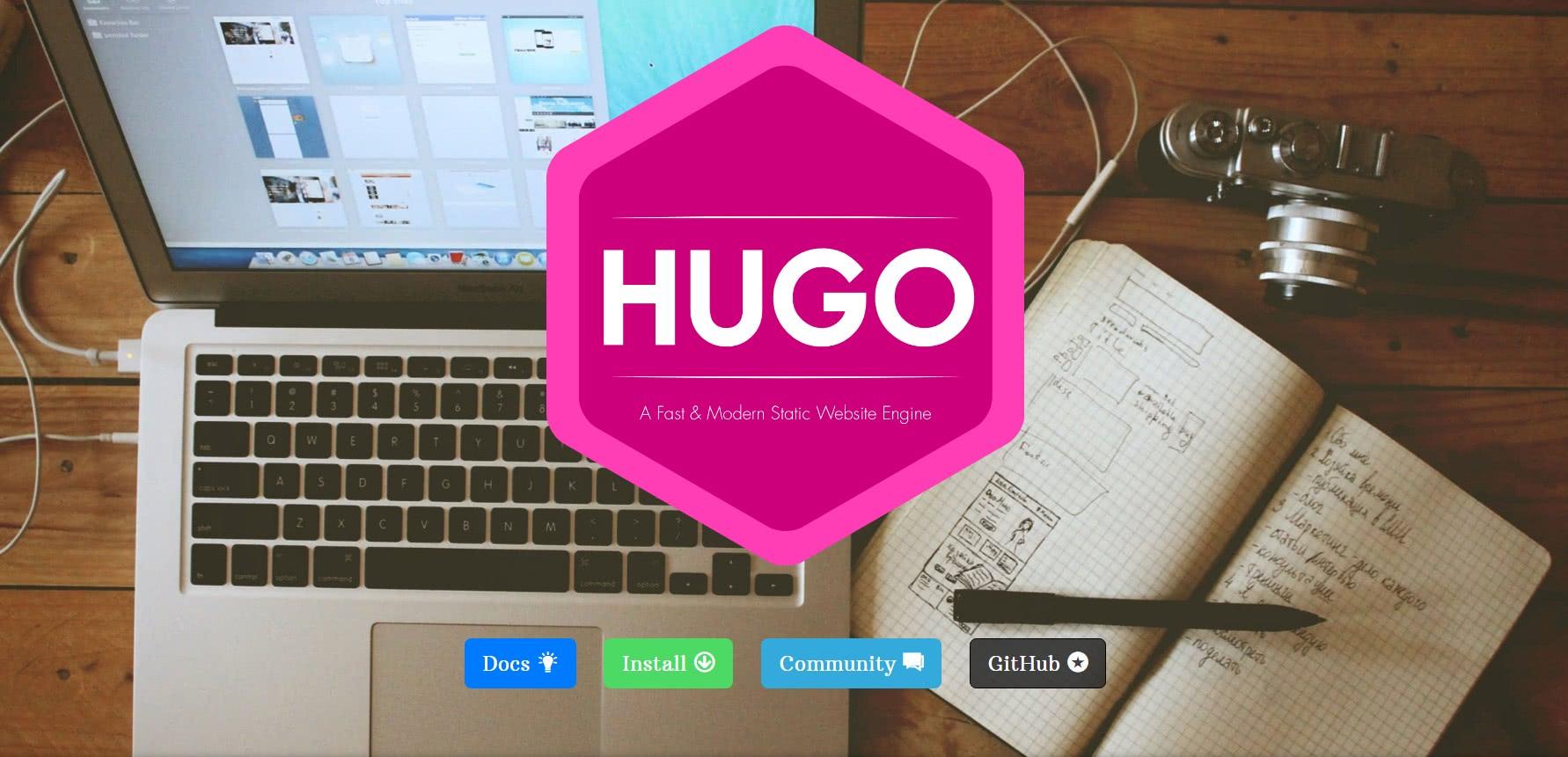 porque troquei o wordpress pelo gerador estático Hugo