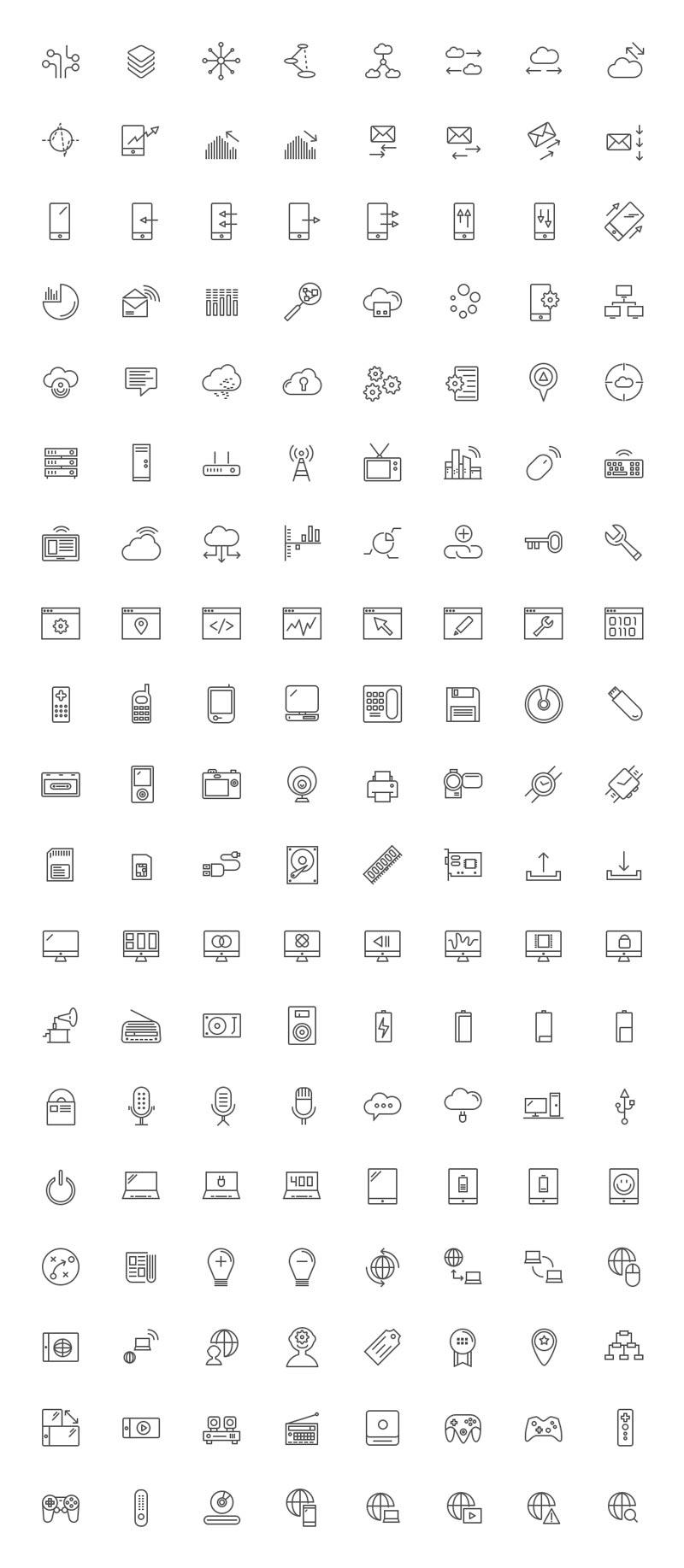 ícones de tecnologia para baixar