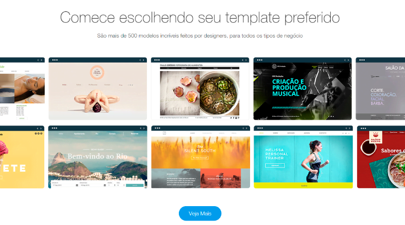 Design criador de websites