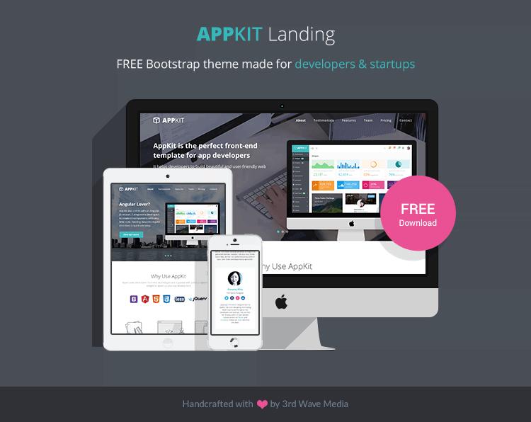 landing page em html de graça