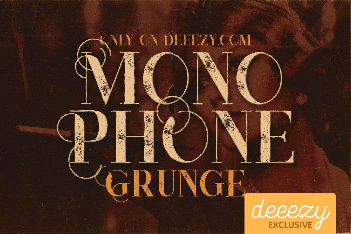 fonte monophone gratuita