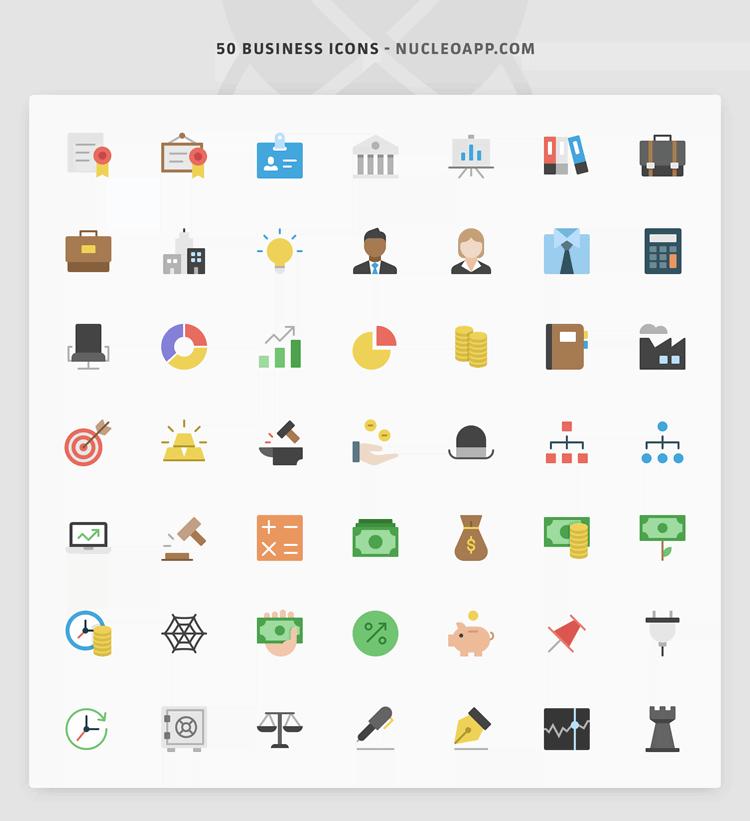 ícones de negócios gratuitos
