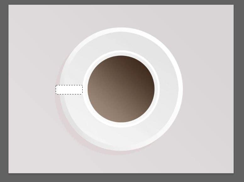 Criar uma xícara no photoshop 8