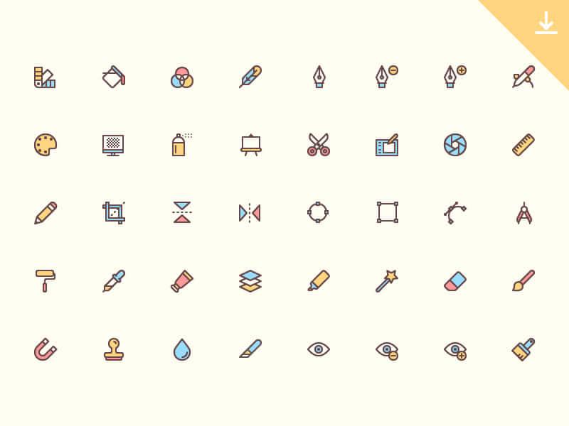 ícones para designers gratuitos