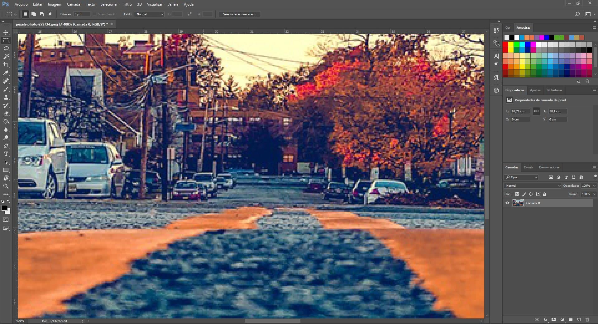 Atalhos para a ferramenta de zoom no photoshop