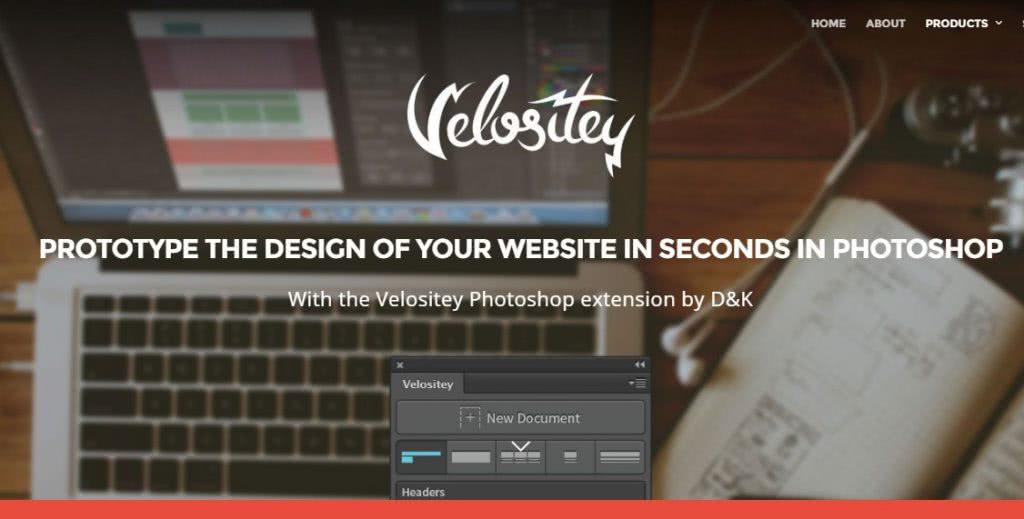 Plugin para o photoshop Velositey