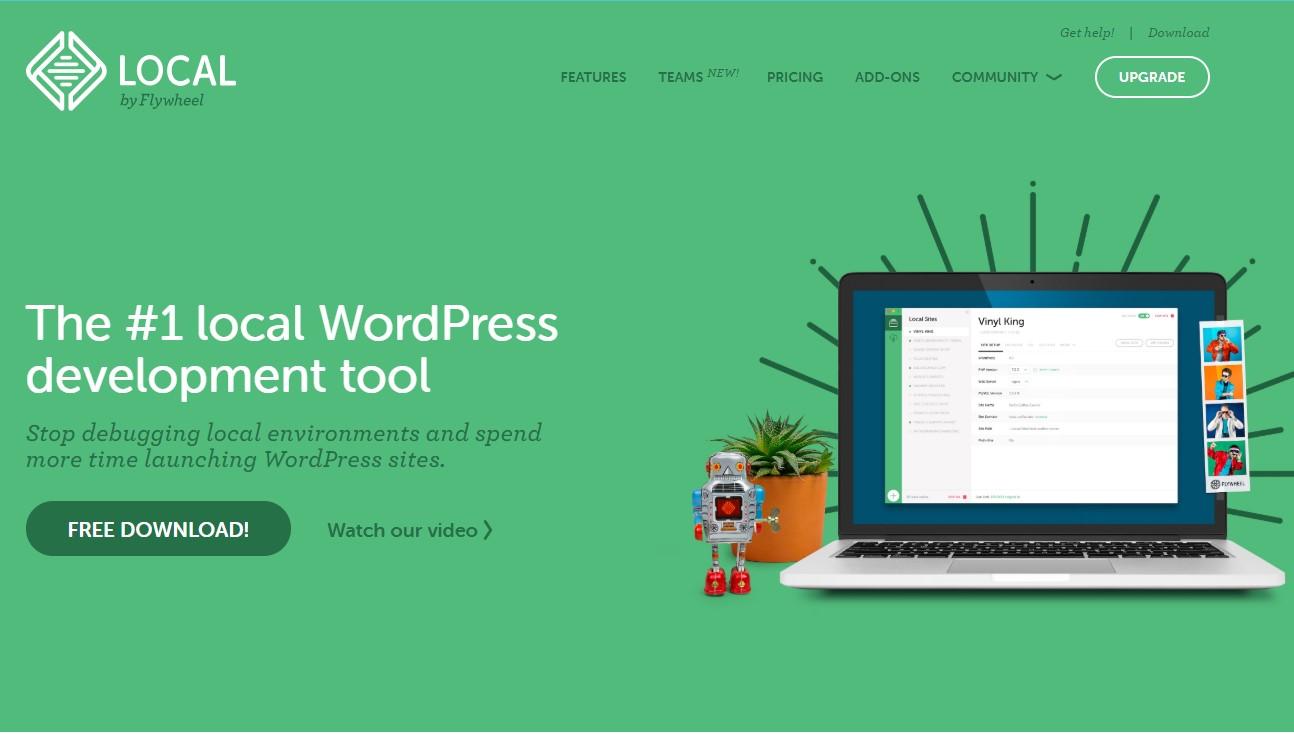 instalar wordpress com flywheel