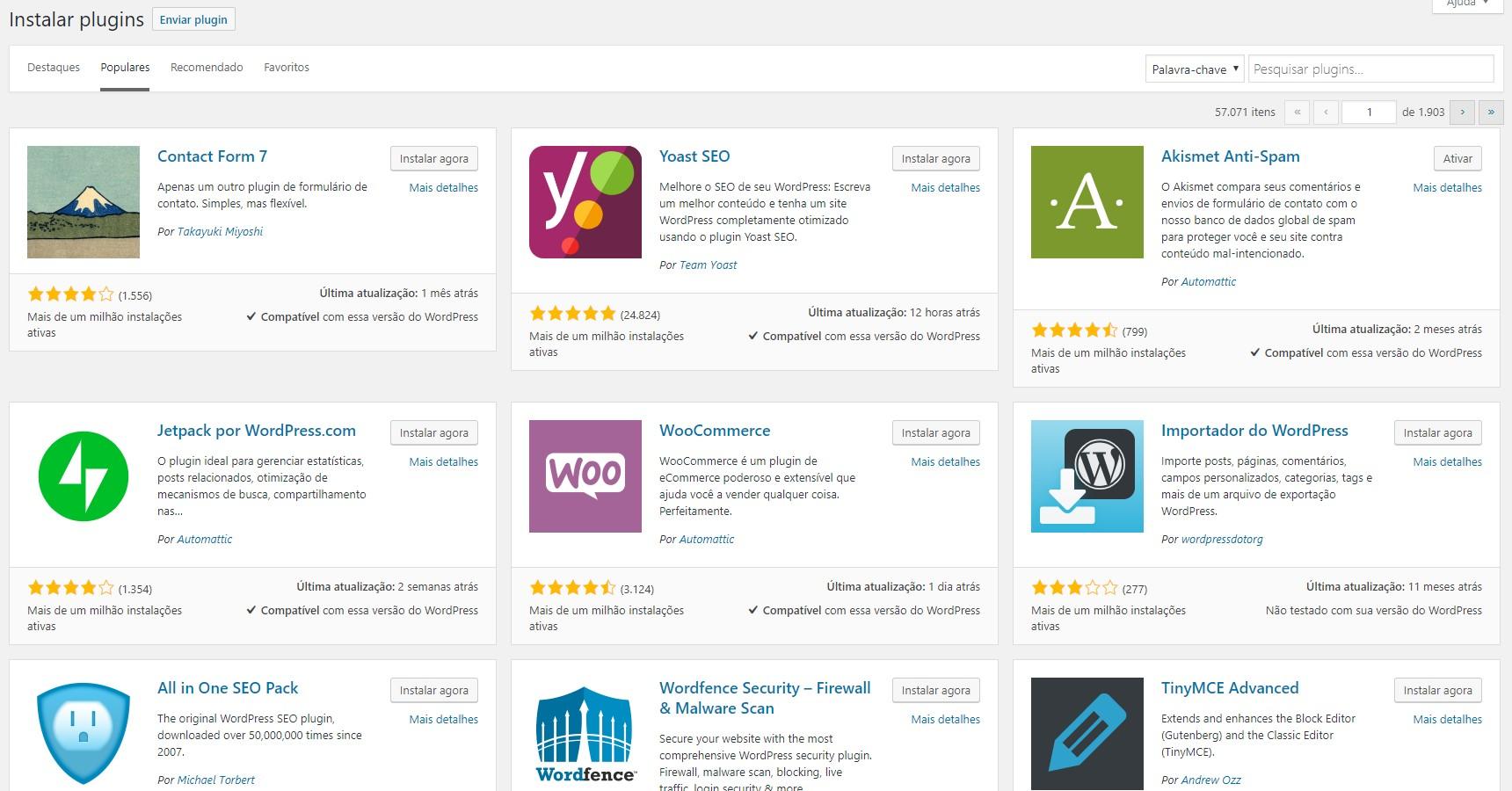 Plugins no WordPress