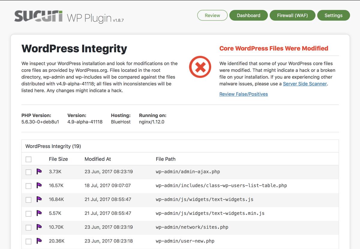 wordpress plugin segurança sucuri