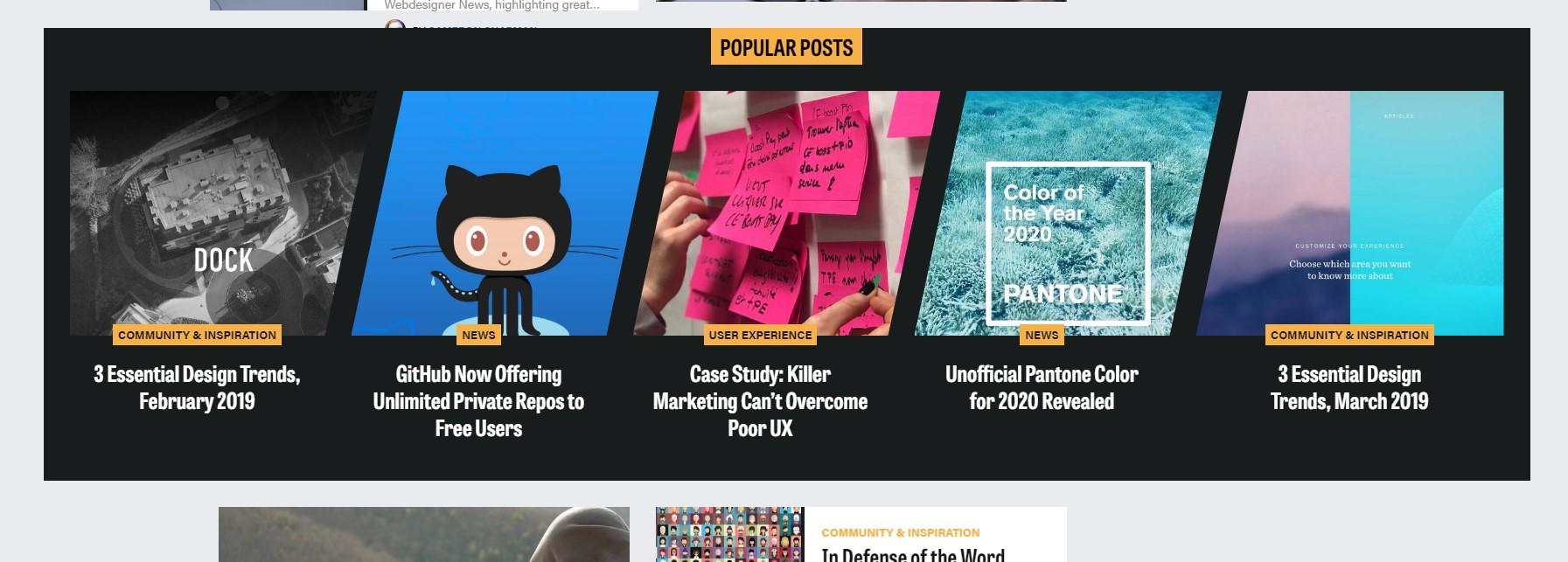 Tamanho de imagens - exemplo webdesignerdepot