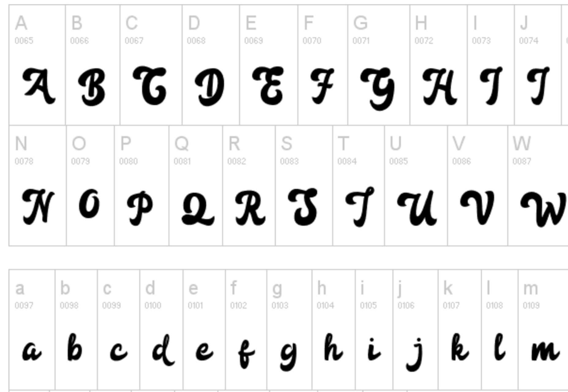 Fonte de letras para baixar