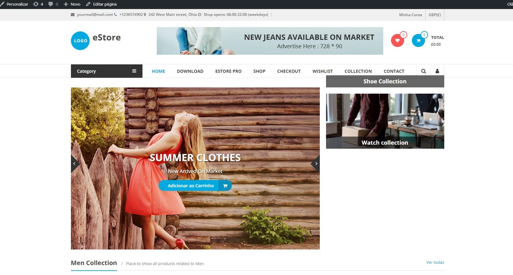 nova loja online
