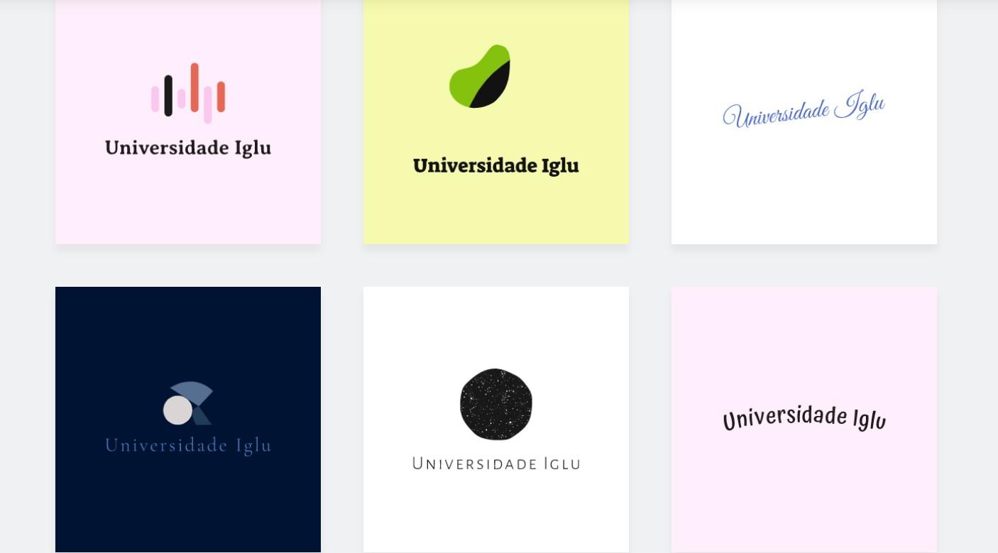 Sugestões de logos