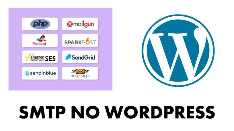 smtp no wordpress